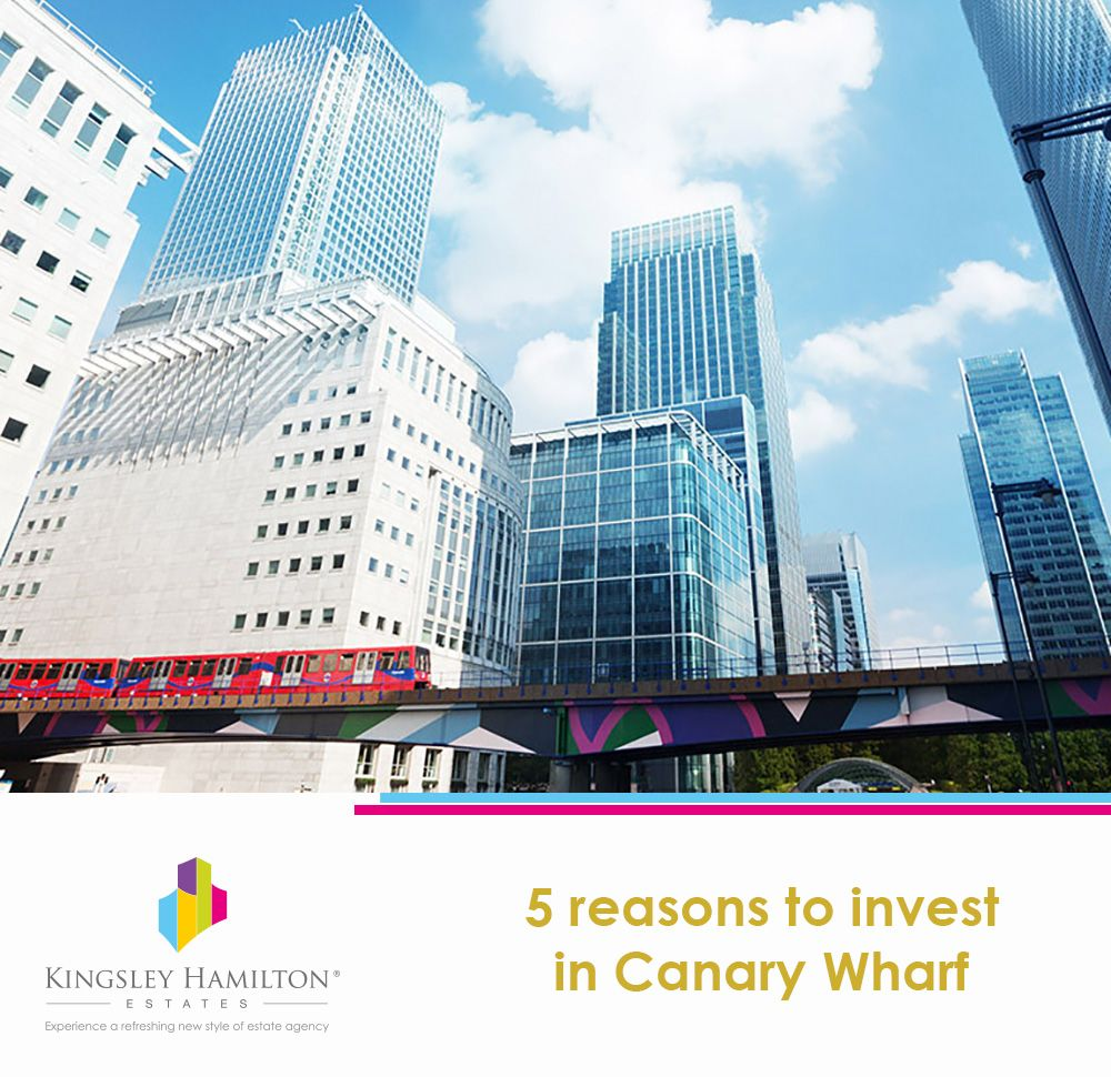 Canary Wharf's allure lies in its prime location – renowned as London's financial centre and business district, it has always been a focus of global status. As the area currently experiences a renaissance in terms of regeneration, we discuss the 5 reasons to invest in Canary Wharf; whether you're looking to buy, sell, rent, or let a property.   Read at: http://www.kh-estates.com/5-reasons-to-invest-in-canary-wharf/
