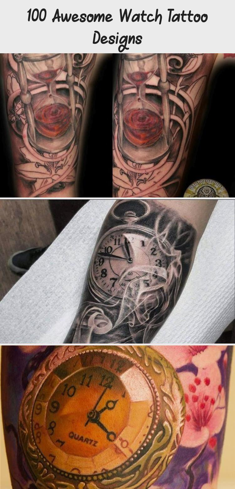 Photo of 100 Awesome Watch Tattoo Designs – Tätowierungen und Körperkunst