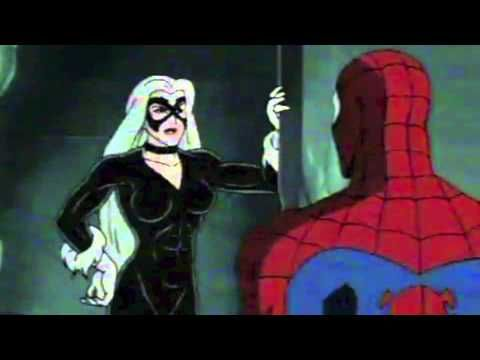 Spiderman the Animated Series - THE BLACK CAT - YouTube ...