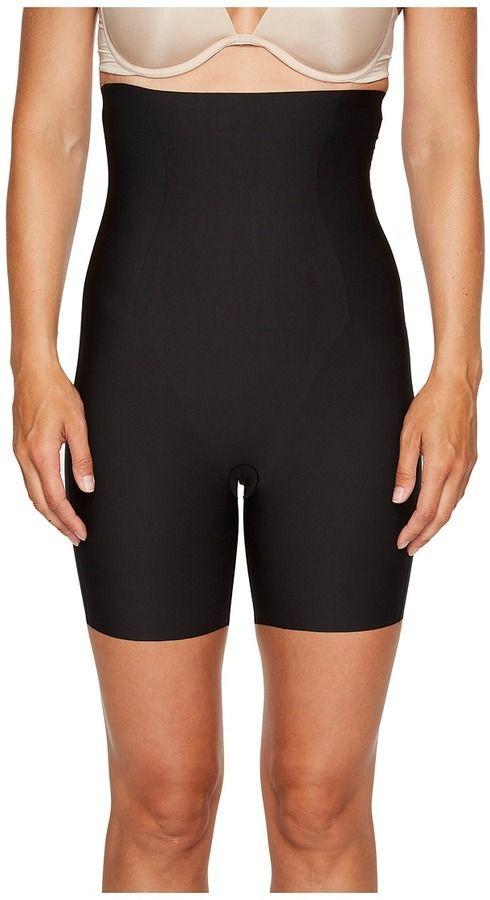 Yummie Womens Hidden Curve High Waist Firm Control Shapewear Skirt Slip