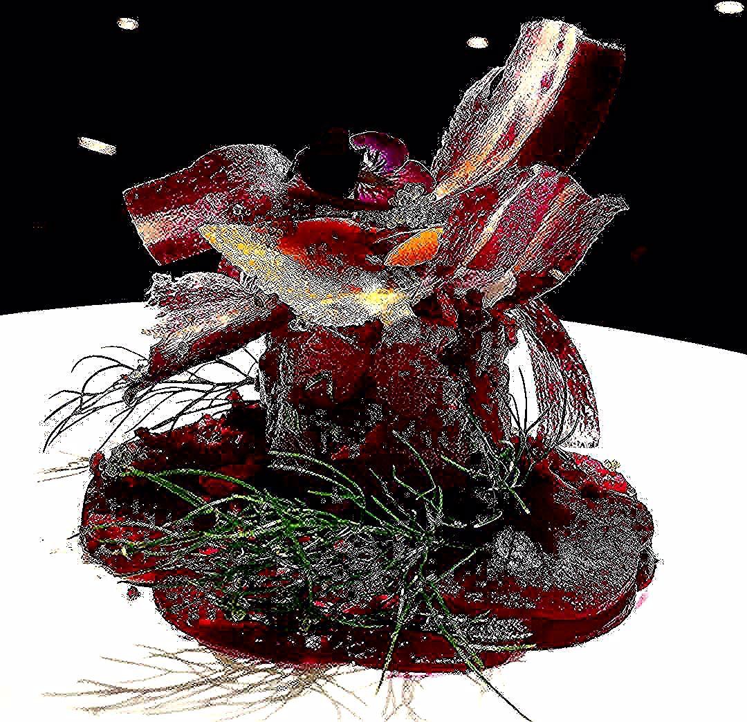 יום מהימים אני אגשים את החלום הגדול שלי  מגדל של סביצה טונה על קרפצ'ו סלק וקרנץ גזר צבעוני ועלה שומר בר #chefstalk #food #foodie #foodporn #theartofplating #gastroart #chefsroll #foodphotography #foodart #chef #beautifulcuisines #instafood #gastronomy #foodstarz #foodgasm #pastry #truecooks #chefsofinstagram #cheflife #chocolate #gastronomia #pastrychef #cooking #art #jalalsalem #yummy #feedfeed #foodstagram #foodblog#GourmetArtistry#jalalsalem by jalalsalem2305
