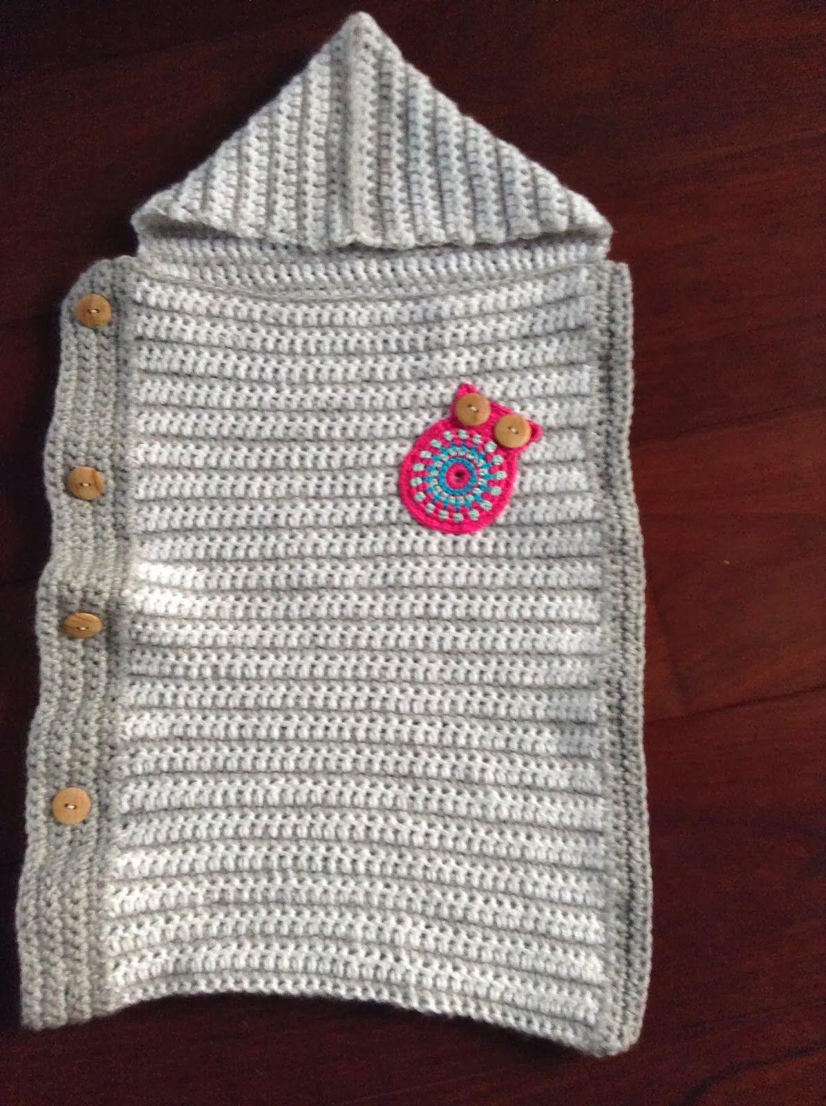 Gratis Haakpatroon Babyslaapzak Angels Pinterest Crochet Baby