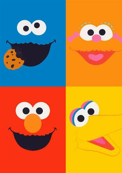 image relating to Printable Pictures of Sesame Street Characters called Sesame Highway Birthday Printables Sesame Road People