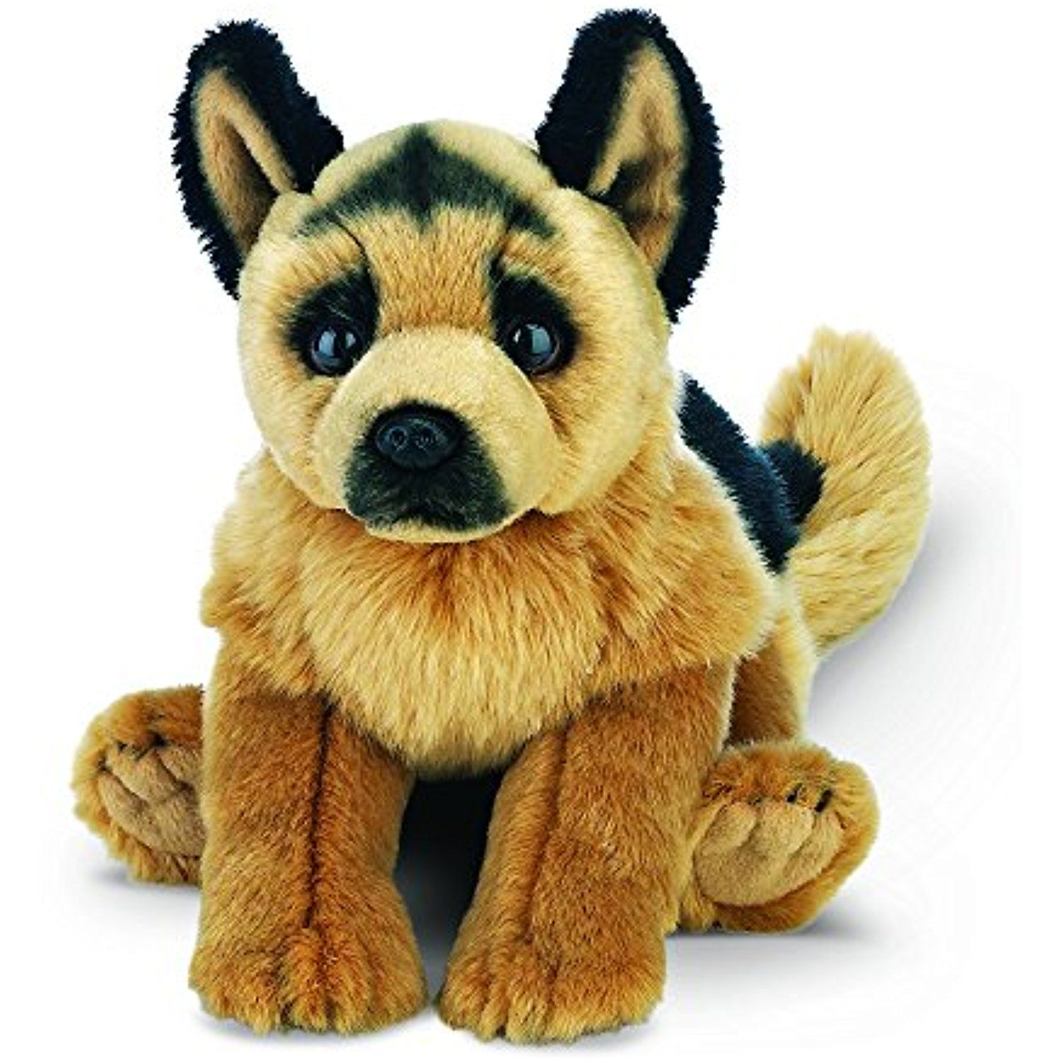 Bearington Chief German Shepherd Stuffed Animal Toy Dog