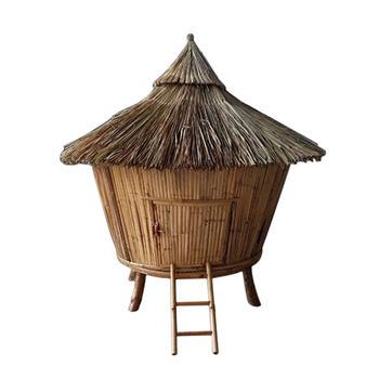 Poulailler Tiki Bambou Poulailler Bambou Deco Bois