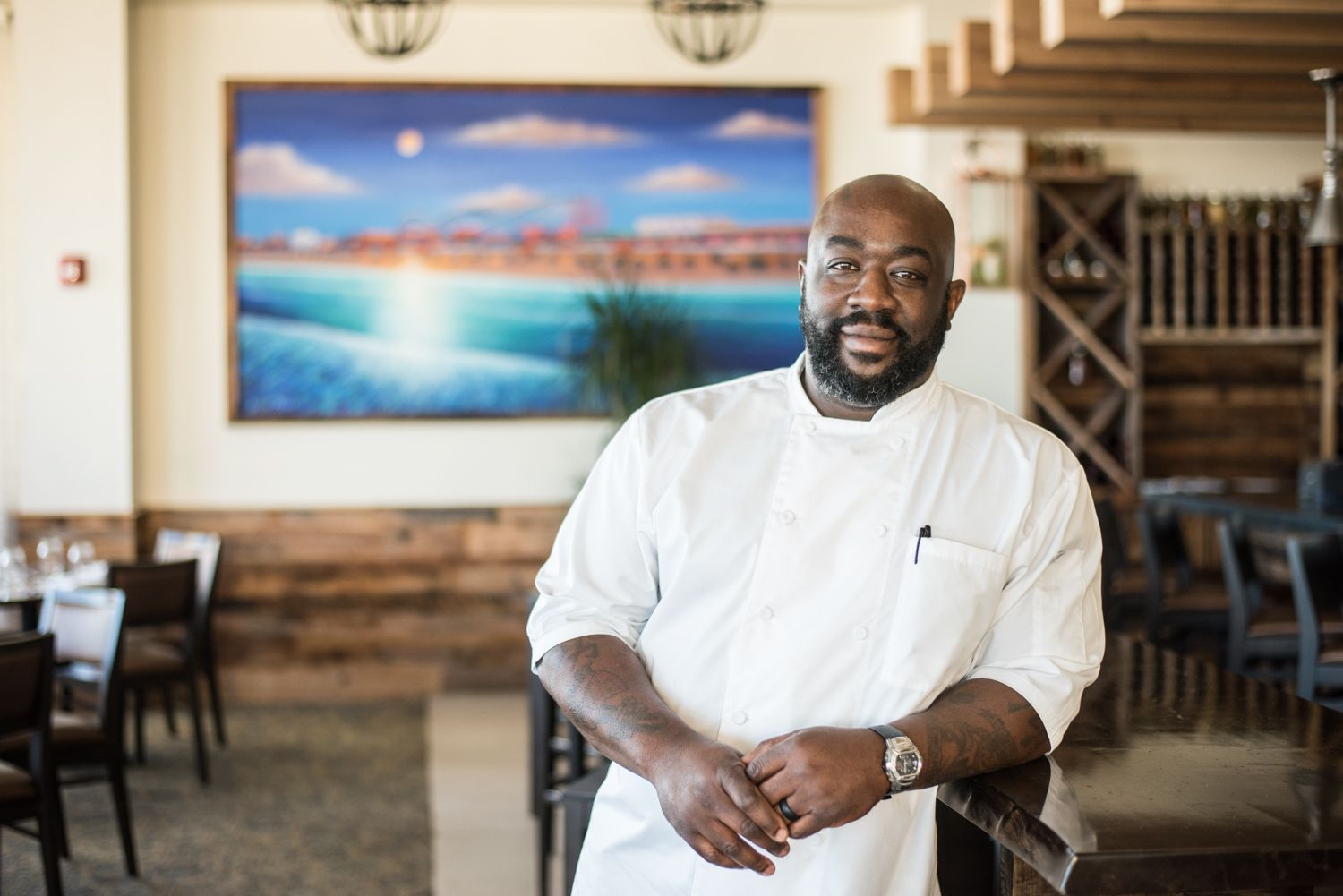 Kenny Gilbert Turns up the Heat Southern dishes, Cuisine