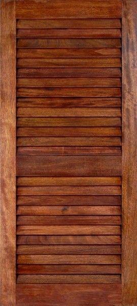 Mahogany Louver Doors 1 3 8 Quot Louverma In 2019 Wooden