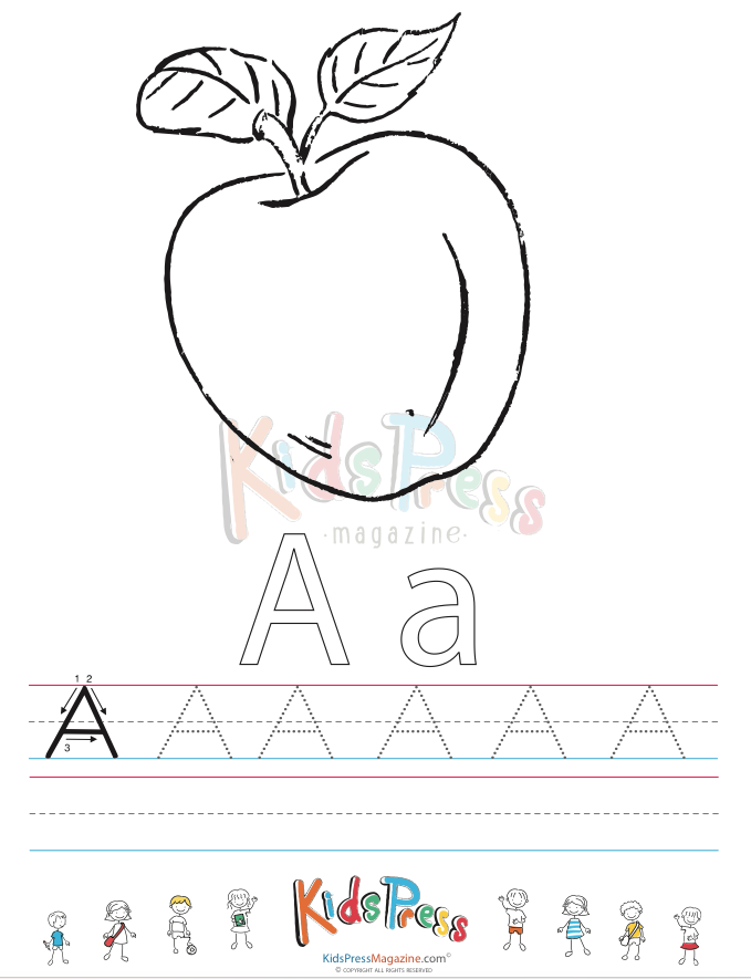Capital Letter Alphabet Tracing Bundle Vol 1 Alphabet Alphabet