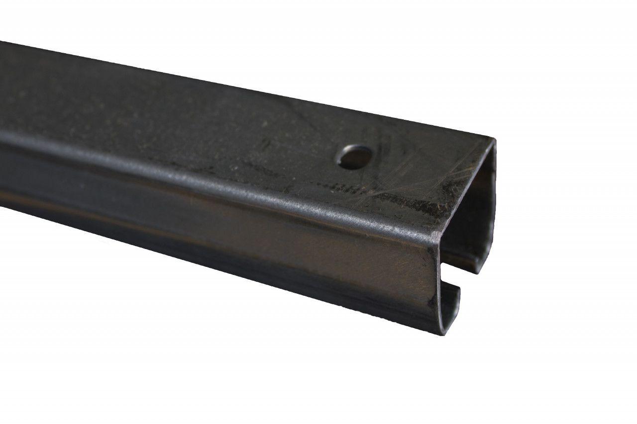 Industrial Roller Track 16 Gauge Galvanized Steel 8 Feet With