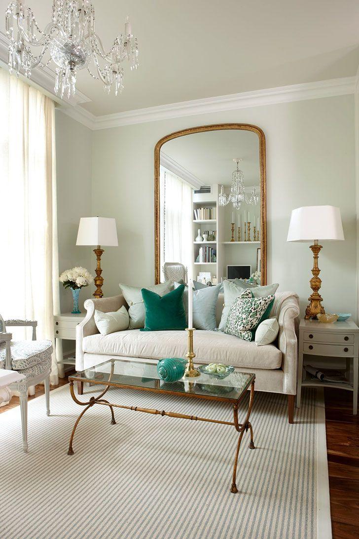 Много стиля на маленьком пространстве: дизайн небольшой гостиной с ...