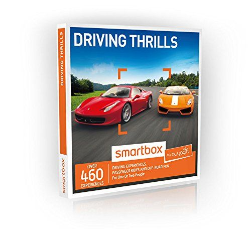 Buyagift Driving Thrills Gift Experiences Box - 460 driving experience days on tracks and courses across