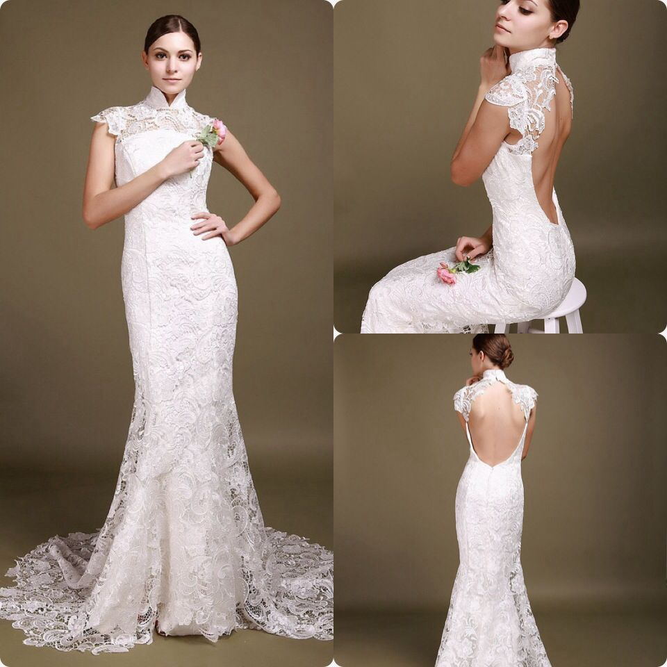 Vestido de novia estilo oriental