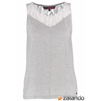Tom Tailor Denim Top light silver melange #top #tomtailor #women #covetme #tomtailordenim