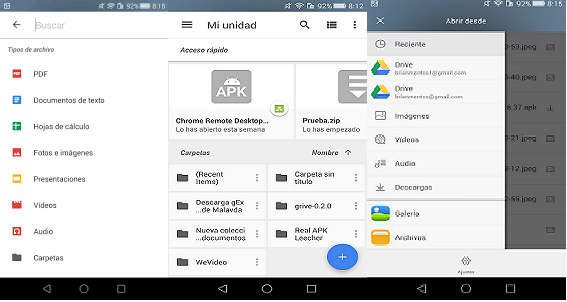 Google drive is the official Apk smartphone android mobile