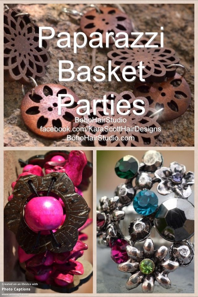 Paparazzi basket parties are free and easy to host take for Paparazzi jewelry gift basket