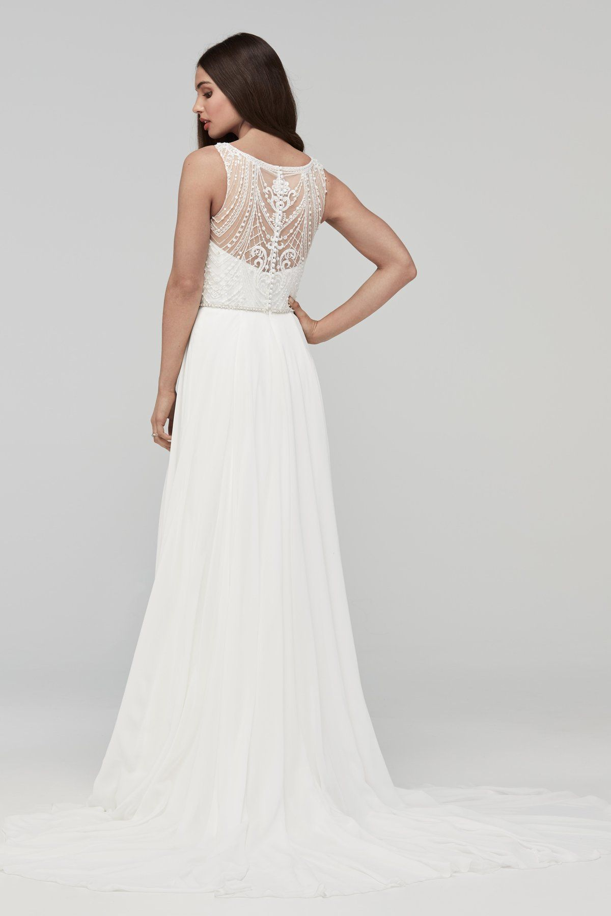 Wtoo by watters hathaway town country bridal for Wedding dress shops st louis mo