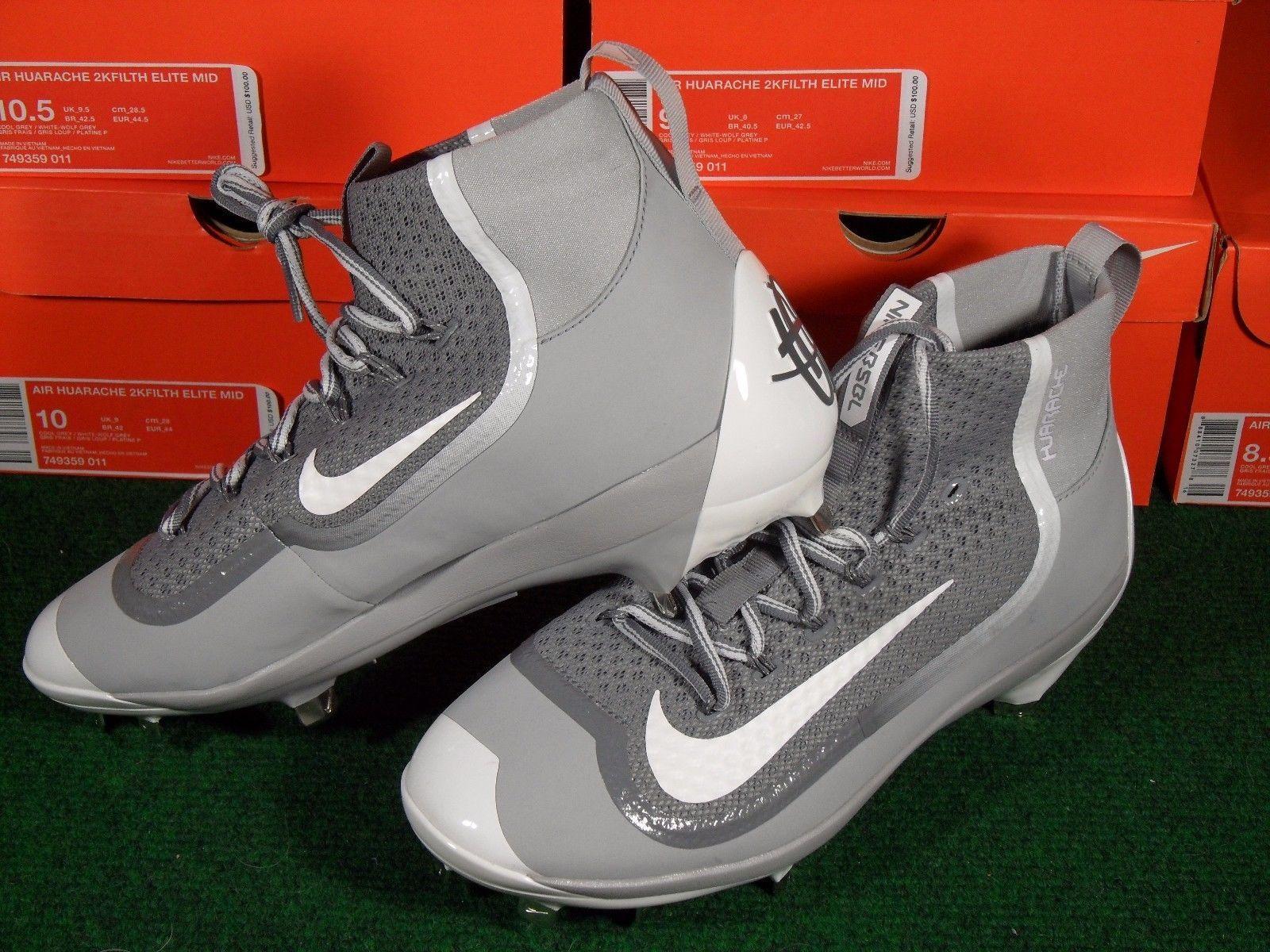 baseball metal spikes nike grey training shoes