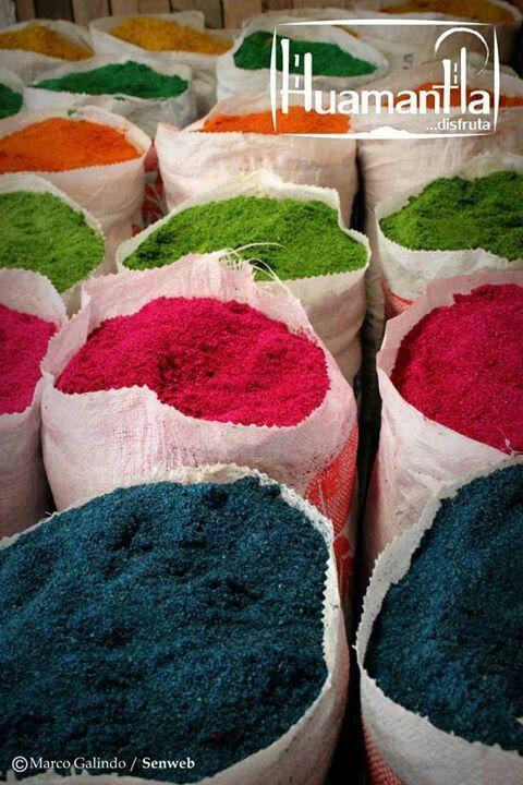 Aserrin de colores para las alfombras tlaxcala mexico Alfombras persas en mexico