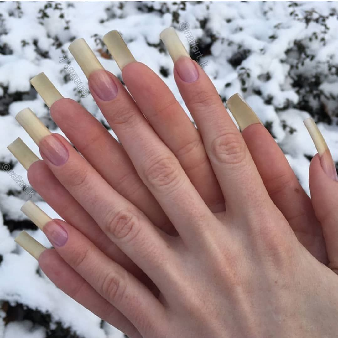 992 Likes, 4 Comments - 100% Natural Long Nails (@naturallongnails ...