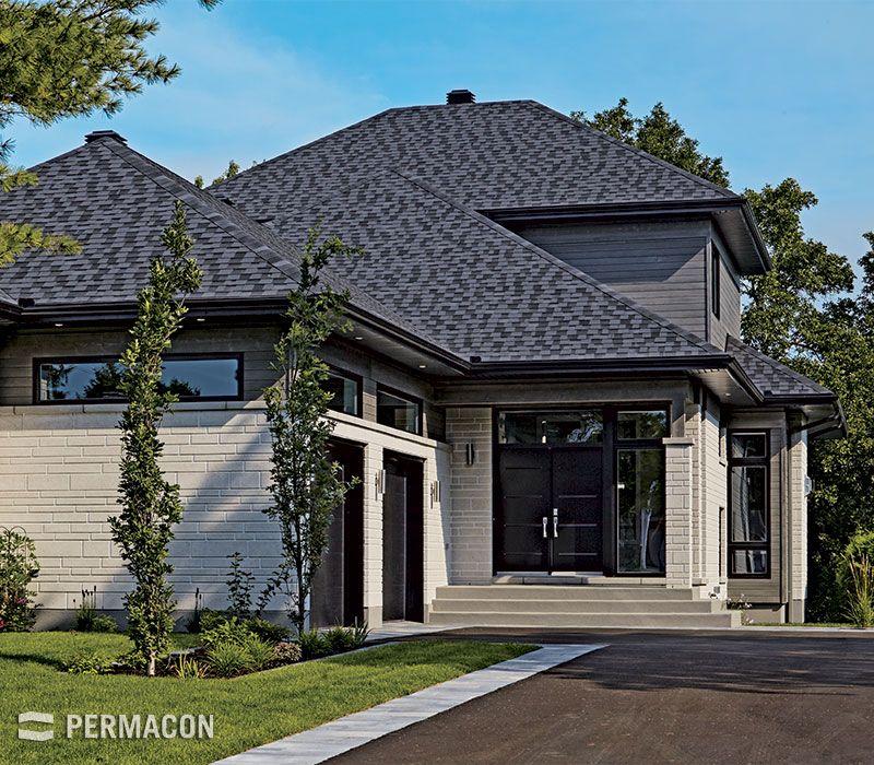 Superbe+maison+avec+magnifique+revEAtment+en+pierre déco - peinture revetement exterieur aluminium