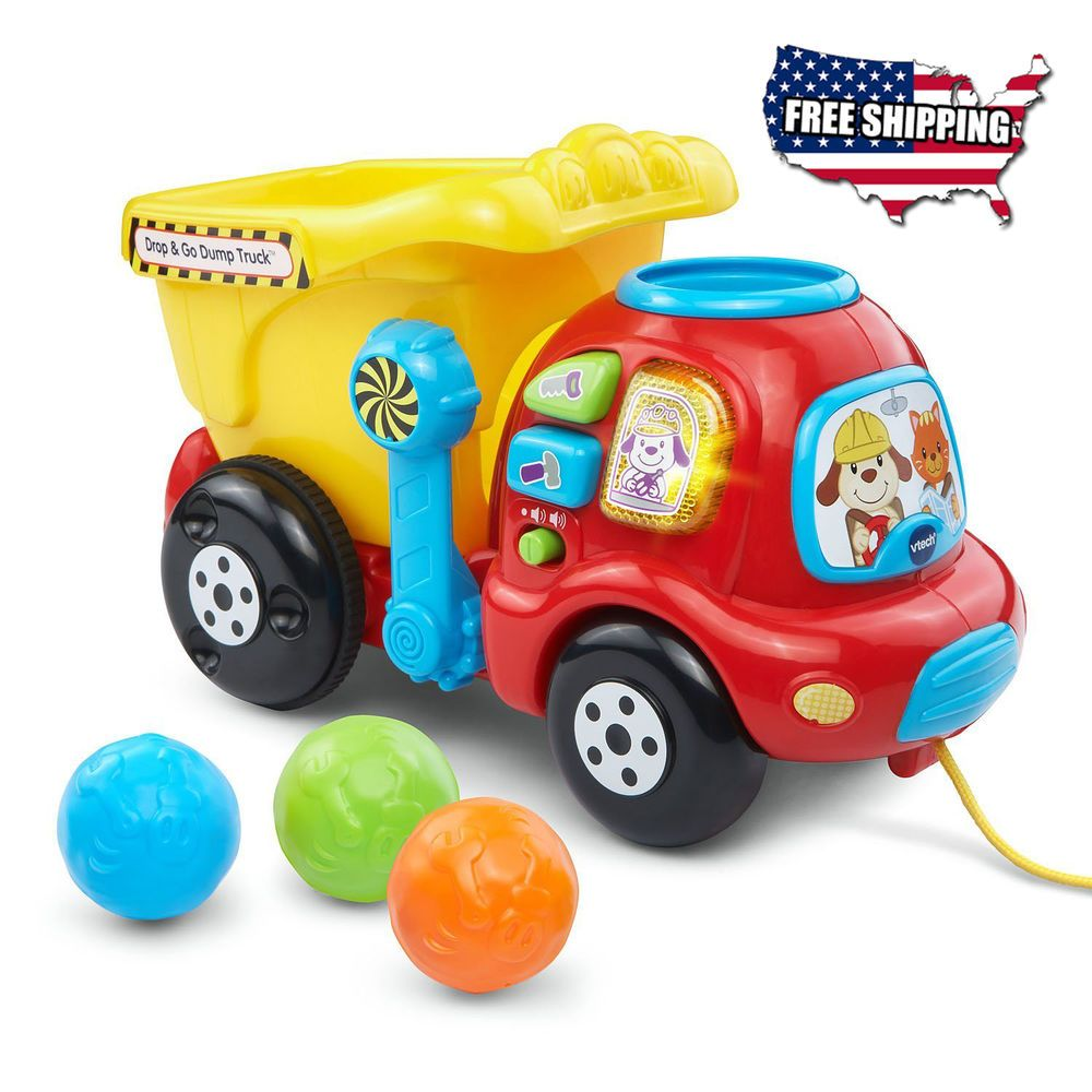 Drop and Go Dump Truck Toy Baby Kids Toys VTech Toddler