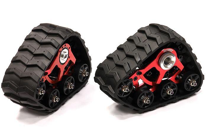 Snowmobile & Sandmobile Conversion for 1/16 Traxxas E-Revo