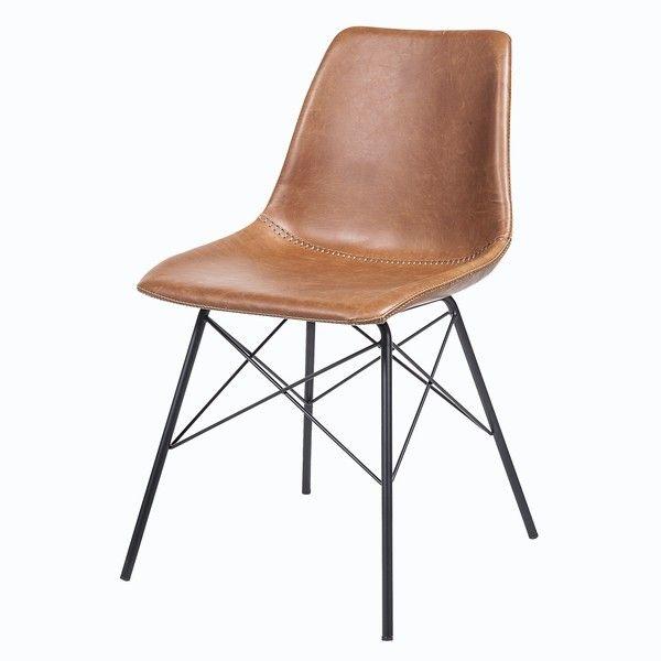 industrial lederstuhl pro b lederstuhl industrial. Black Bedroom Furniture Sets. Home Design Ideas