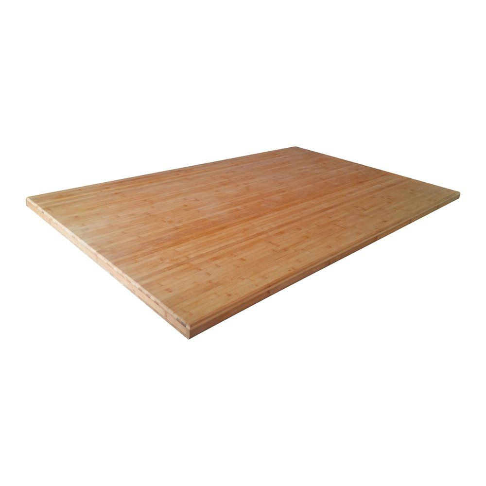 Q Solutions Company CB Bamboo Island Top | Lowe's Canada | kitchen ...