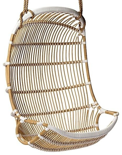 Double Hanging Rattan Chair My Mormor (grandmother In Swedish) Has A  Similar One Of These Hanging In A Room In Her House That I Used To Swing On  As A Kid.