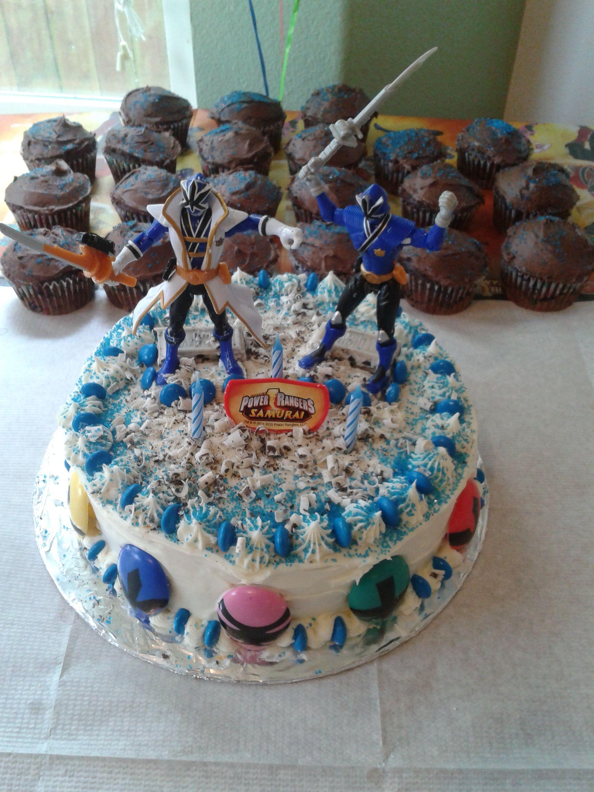 Power Rangers Cake For My Nephew S Birthday
