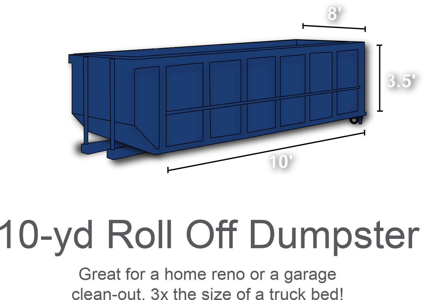 10 Yard Roll Off Dumpster Roll Off Dumpster Dumpster Rental Dumpster