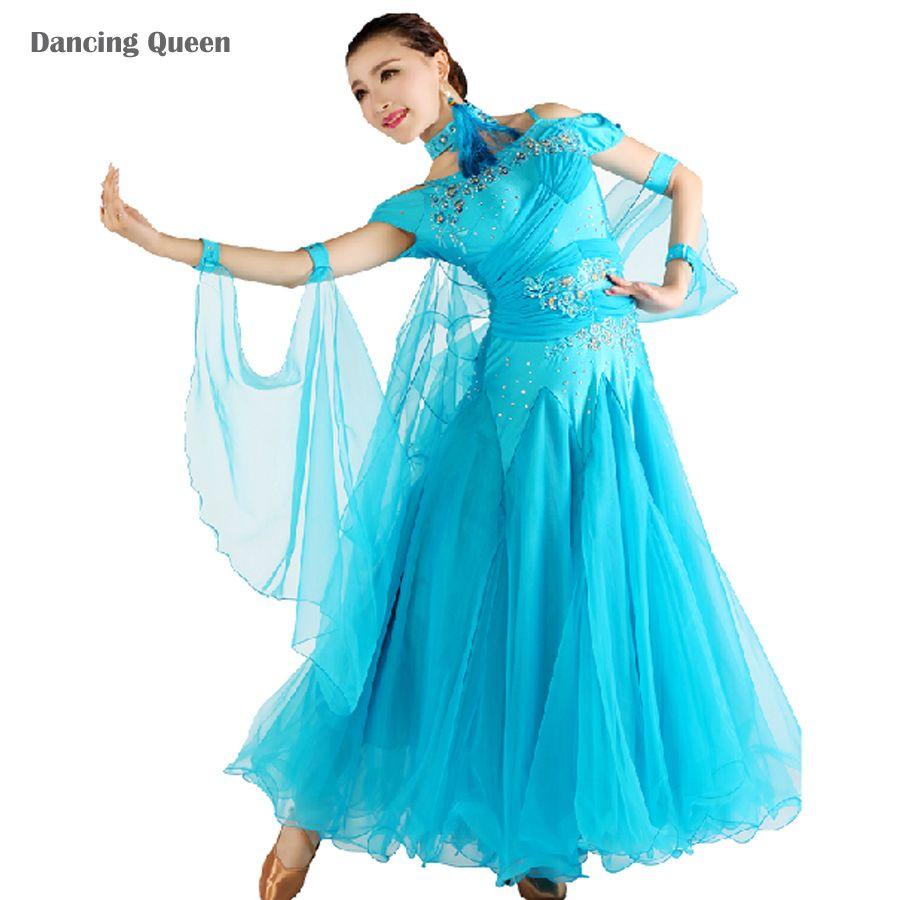 Pas cher robes pour la danse de salon standard 10 couleurs salle de bal jupes gorgeous - Robe de danse de salon pas cher ...