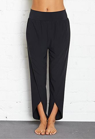 169e13e22660ff Tulip Hem Studio Pants   FOREVER21 - 2000085492 > Great for Yoga or a dance  class.