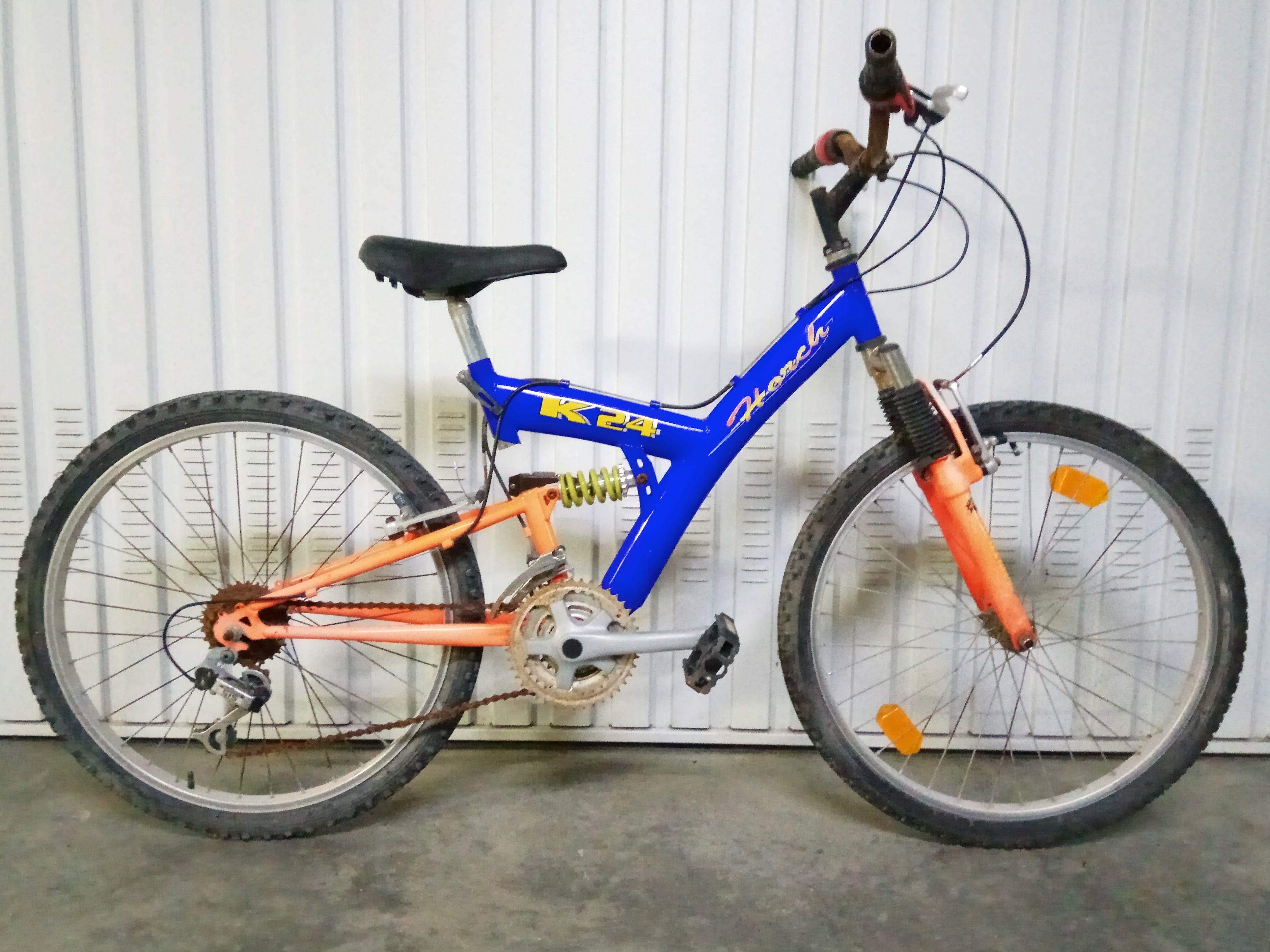 Bicicleta con Doble Amortiguador 65€ MARCA: Horch MODELO: K24 CLASE ...