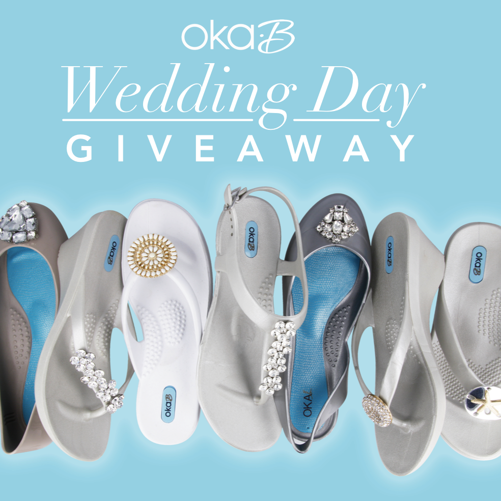 68eabca683fe6 Announcing the Oka-B Wedding Day Giveaway  click through to see how you can  enter for a chance to win shoes for your bridal party!  OkaBLovesYou ...
