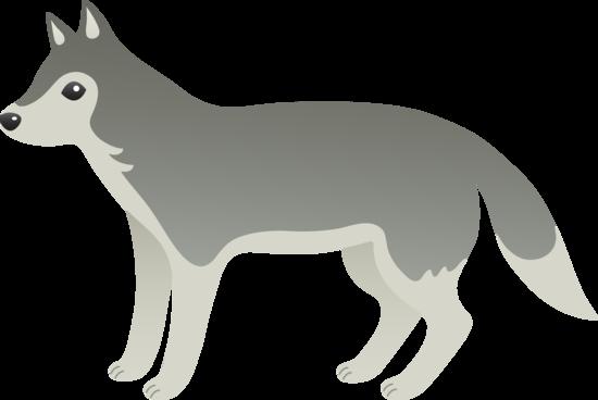 Gray Wolf Cartoon Wolf Grey Wolf Cartoons Png