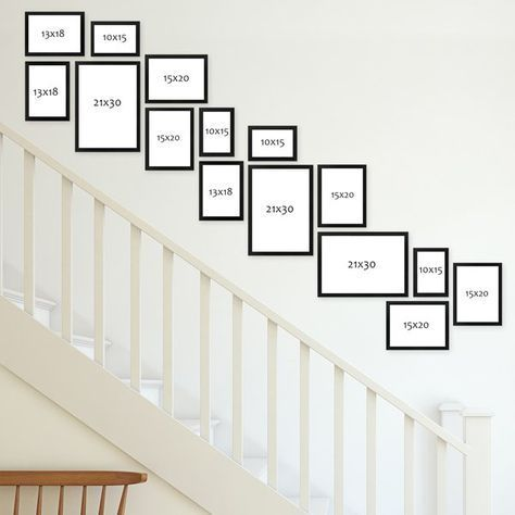 Photo of Design picture walls – arrange pictures correctly