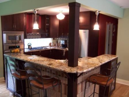 L Shape Kitchen Designs With Islands l shaped island ideal exactly what i want, except without the