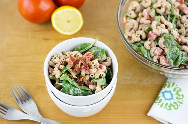 Recipe: Creamy BLT Macaroni Salad