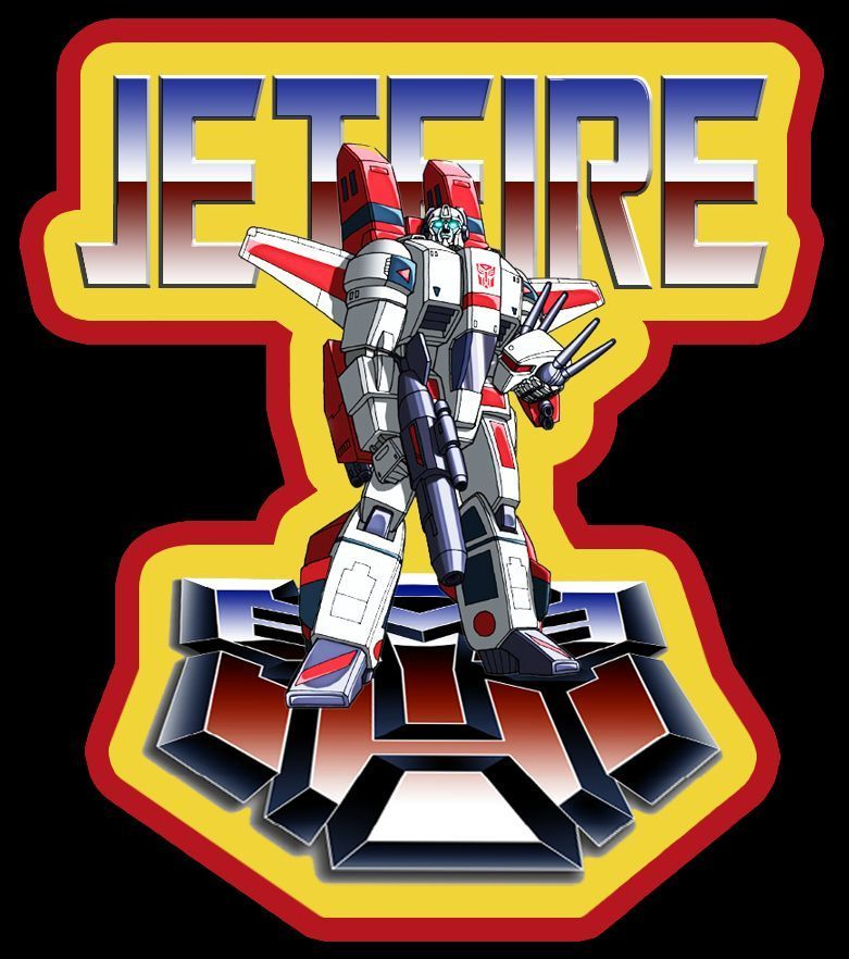 80/'s Cartoon Classic G1 Transformers Autobot Jetfire custom tee AnySize AnyColor