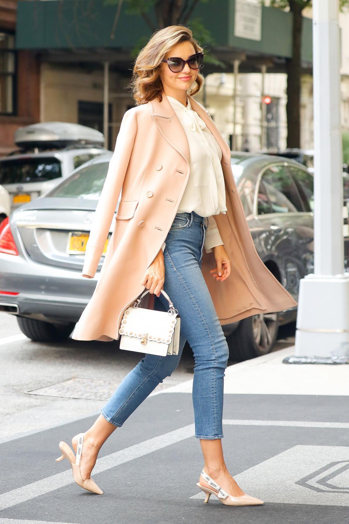 180eb3b76c50 Miranda Kerr wearing Miranda + Mother Daily Dose Jeans in High Spirits