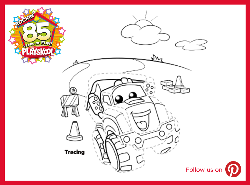 Need To Give The Kids A Quick Activity Print This Trace Of Chuck And Friends And Let Them Color It In That Ll Give You 10 Minut Busy Parents Activities Print