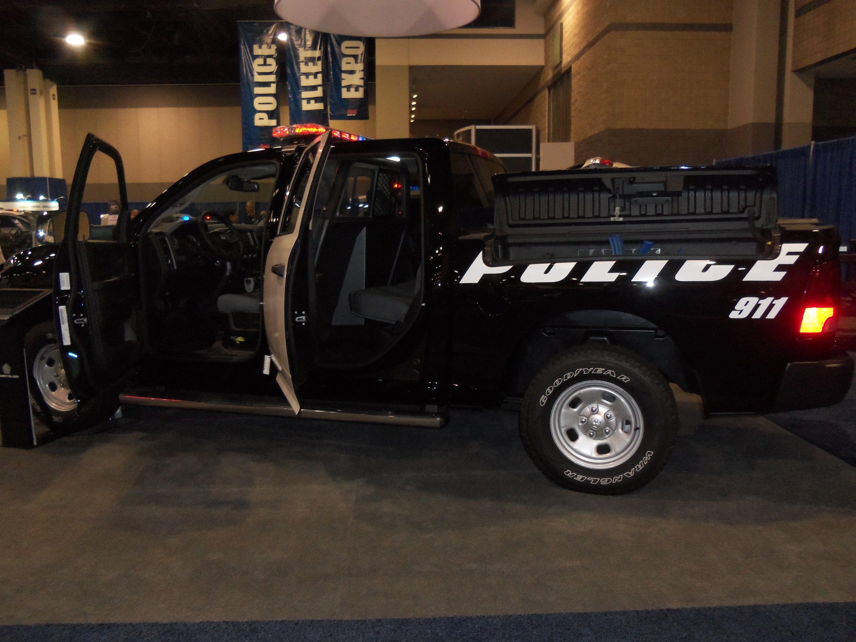 Dodge ram 1500 special service truck at the 2013 police fleet expo in charlotte