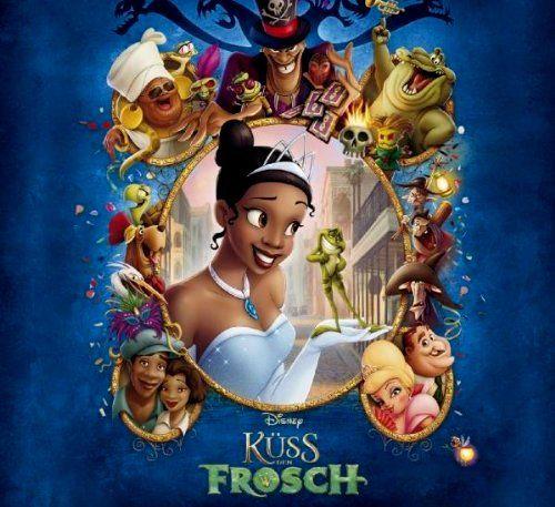 Kuss Den Frosch Animationsfilme Kuss Den Frosch Disney Poster