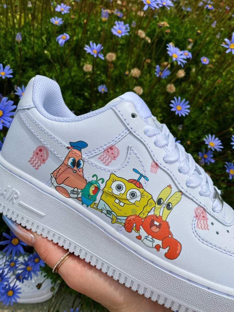SpongeBob Friends AF1
