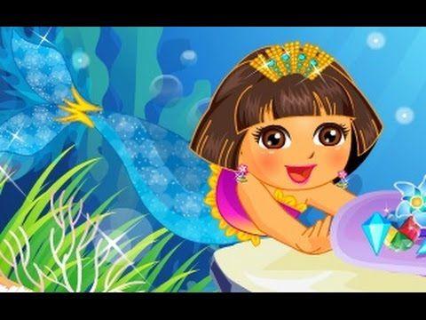 دورا حورية البحر مغامرات دورا والكنز العاب كرتون للاطفال كاملة Cartoon Disney Characters Disney