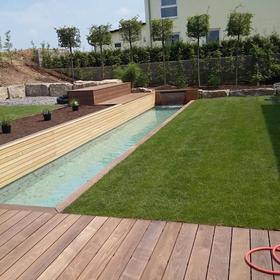 wasserbecken kleiner pool by gartengestaltung sven pfadt garden pinterest kleiner pool. Black Bedroom Furniture Sets. Home Design Ideas