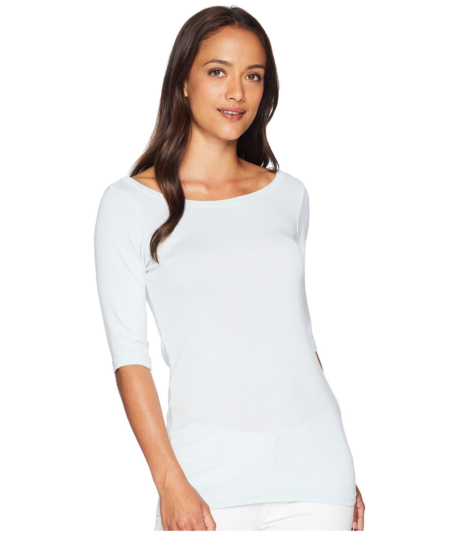 04f1ac19214 MICHAEL STARS WIDE SCOOP NECK ELBOW SLEEVE TEE - Google Search