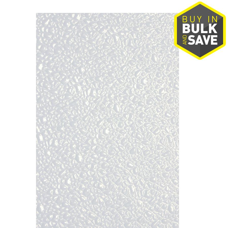 48in x 8ft embossed white fiberglass reinforced plastic