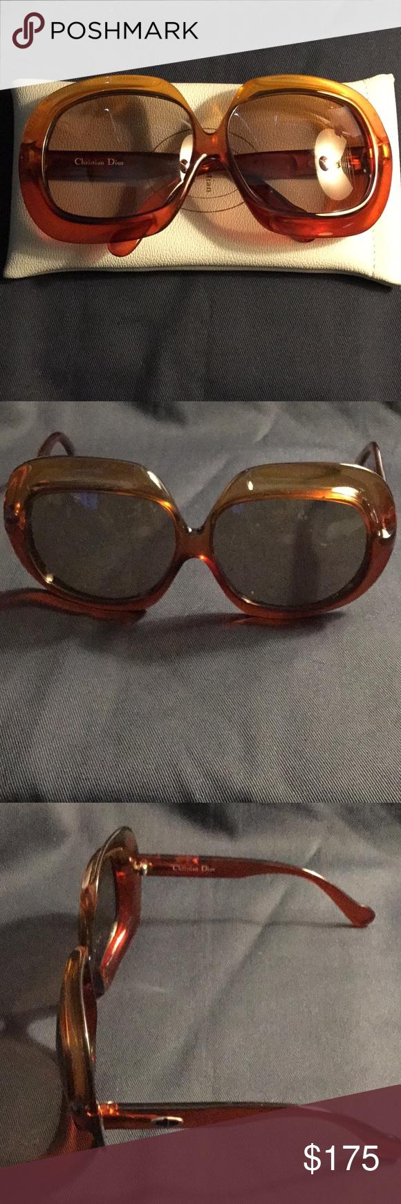 6ef9d3059a1b Vintage Christian Dior Sunglasses Vintage Christian Dior Sunglasses ...